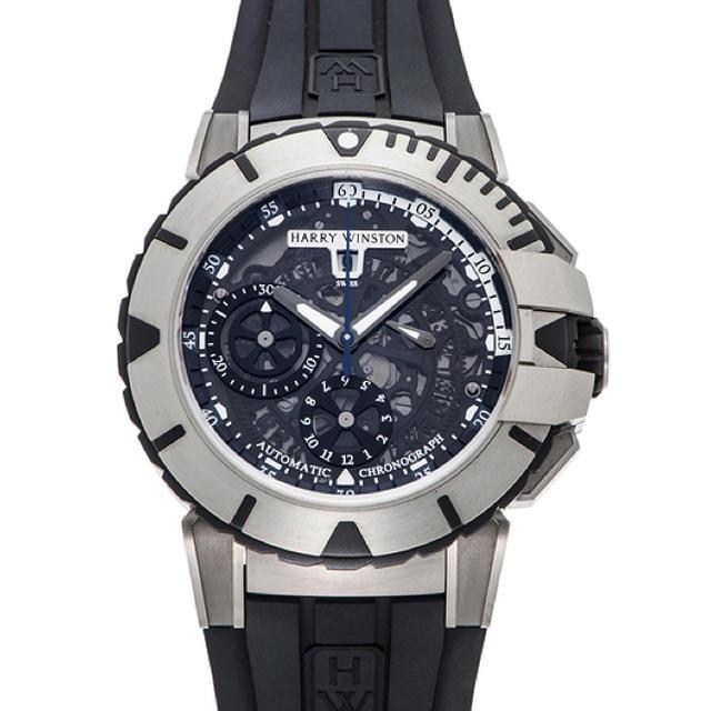 HARRY WINSTON(ハリーウィンストン)のHARRY WINSTON Ocean Sports Chronograph  メンズの時計(腕時計(アナログ))の商品写真