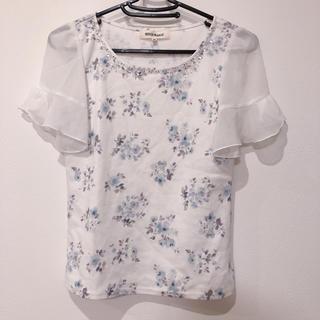 ミッシュマッシュ(MISCH MASCH)のミッシュマッシュ   袖フリルプルオーバー(Tシャツ(半袖/袖なし))