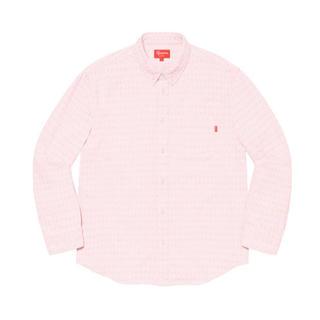 シュプリーム(Supreme)のSupreme Jacquard Logos Denim Shirt(シャツ)