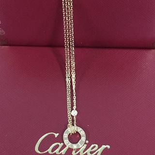 Cartier - Cartier LOVE ネックレス  18K