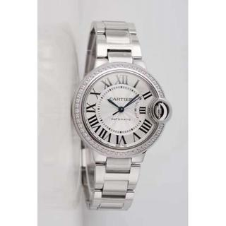 Cartier - カルティエ 腕時計 バロンブルー ダイヤベゼル