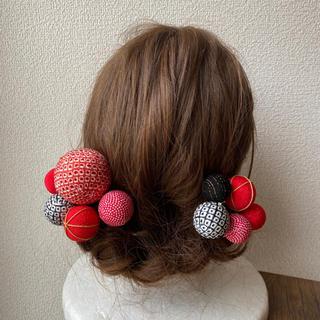 玉飾りの髪飾り【A3】(和装小物)