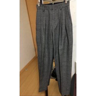 stein two tuck wide trousers