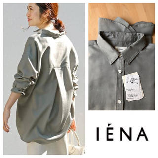 IENA - イエナ Ly/Pツイルオーバーシャツ グリーン 38
