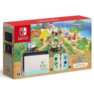 Nintendo Switch - 【新品未使用】Nintendo Switch あつまれ どうぶつの森セット