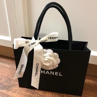 CHANEL - CHANEL 袋 カメリア リボン ショッパー  バック