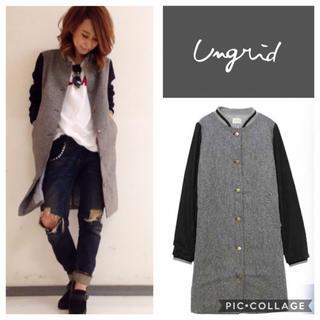 Ungrid - Ungrid**ノーカラーロングコート