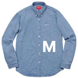Supreme -  supreme 18ss washed twill shirt M