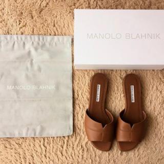 L'Appartement DEUXIEME CLASSE - MANOLO BLAHNIK★新品未使用★サンダル