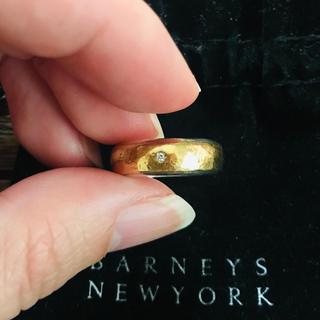 BARNEYS NEW YORK - マルコムベッツ  1p ダイヤリング