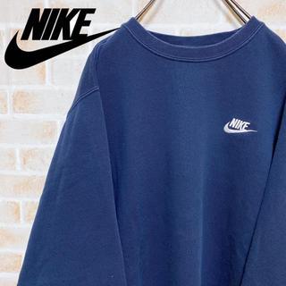 NIKE - 【激レア‼︎】NIKE◎スウォッシュ刺繍 90s プルオーバー スウェット