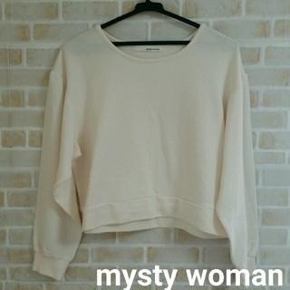 mysty woman - mysty woman  シフォン袖 トップス