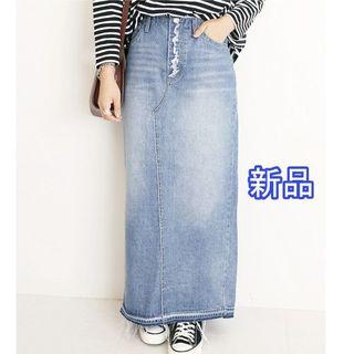 IENA SLOBE - 新品★LE DENIM カットオフタイトデニムスカート