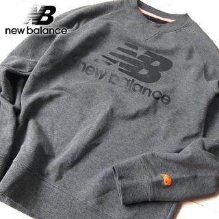ニューバランス(New Balance)の美品 Mサイズ ニューバランス メンズ スウェット/トレーナー グレー(スウェット)
