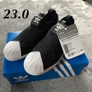 adidas - アディダス スーパースター スリッポン 23