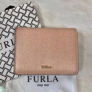 Furla - 新品  フルラ  二つ折り財布  ピンク バビロン