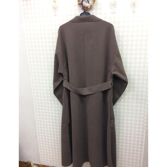 GRL(グレイル)の【新品】GRLダブルフェイスBIGロングコート レディースのジャケット/アウター(ロングコート)の商品写真