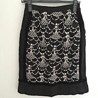 ツモリチサト(TSUMORI CHISATO)の【SALE】ツモリチサト ニットスカート(ひざ丈スカート)