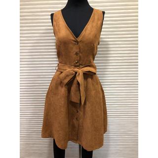 ヘザー(heather)のヘザー美良品 2wayワンピ スカート  2点以上まとめ買い値下げ!(ひざ丈ワンピース)