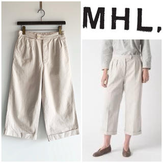MARGARET HOWELL - MHL. RAISED COTTON DRILL マーガレットハウエル サイズ1