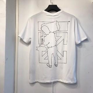 オフホワイト(OFF-WHITE)のOff-White 半袖 シャツ tシャツ ディシャツ 白  男女兼用 (Tシャツ/カットソー(半袖/袖なし))