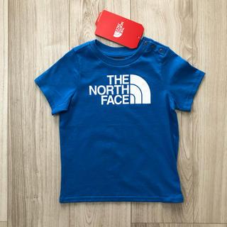 THE NORTH FACE - 【海外限定】TNF ノースフェイス キッズ ロゴTシャツ ブルー 90cm