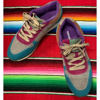 チチカカ(titicaca)の新品 TITICACA マルチカラー スニーカー チチカカ 24.5(スニーカー)