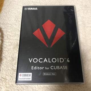 VOCALOID4 Editor for CUBASE(DAWソフトウェア)