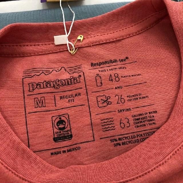 patagonia(パタゴニア)の★海外正規品★ 即日発送 patagonia ロンT ブラック Mサイズ  メンズのトップス(Tシャツ/カットソー(七分/長袖))の商品写真
