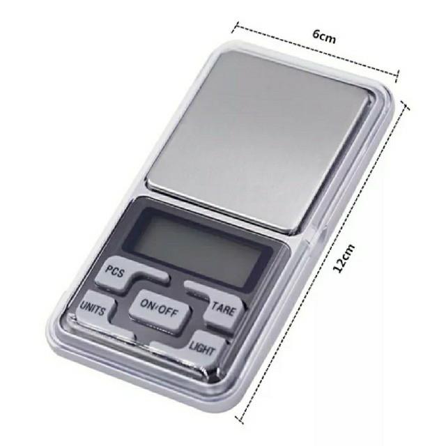 新商品袋入りフリマに便利~デジタル計り0.01g単位便利な500gまで精密計量可 インテリア/住まい/日用品のキッチン/食器(調理道具/製菓道具)の商品写真