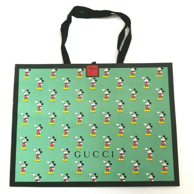 Gucci - GUCCI×ミッキーコラボ 紙袋の通販