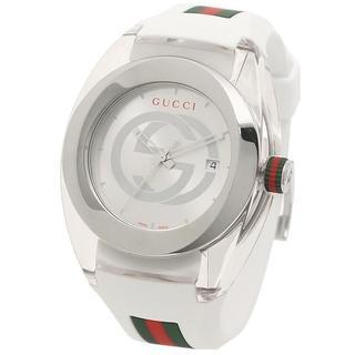 Gucci - GUCCI SYNC YA137102 腕時計 ホワイト