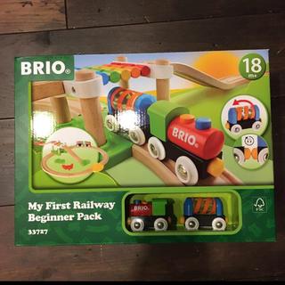 ブリオ(BRIO)の新品 BRIO  はじめてのレールセット (電車のおもちゃ/車)