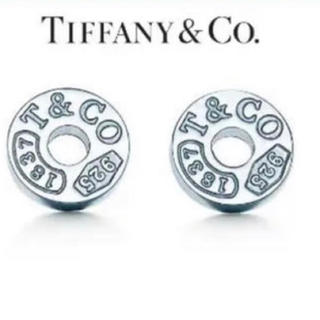 Tiffany & Co. - ティファニーTIFFANY&CO. 1837 サークルピアス シルバー