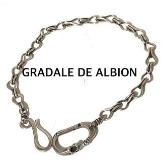 GRADALE DE ALBION ウォレットチェーン 925/125g57㎝(その他)