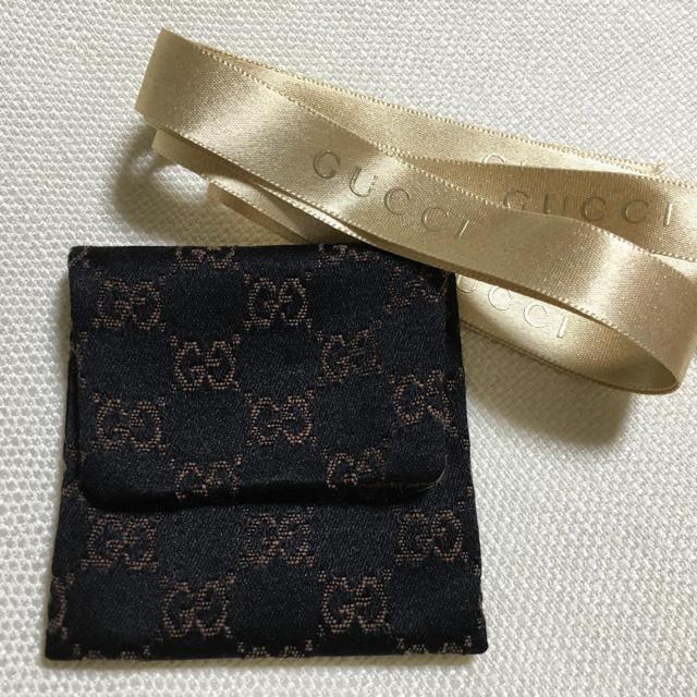 Christian dior 時計 偽物 / Gucci - 【GUCCI 】アクセサリーケース ポーチ リボン付 黒の通販