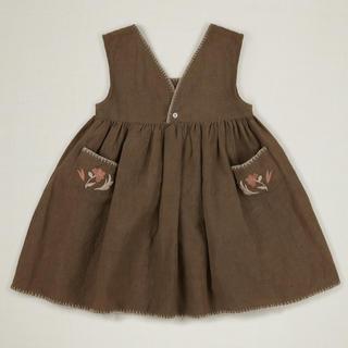 Caramel baby&child  - 20ss apolina CELESTINE DRESS BRANCH アポリナ
