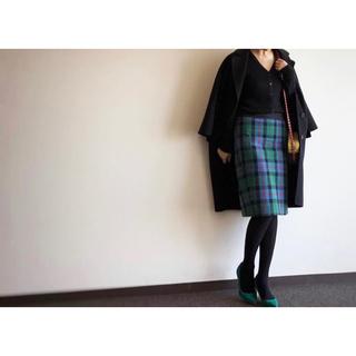Drawer - DRAWER チェックSK ドゥロワー BLAMINK スカート