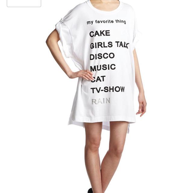 JEANASIS(ジーナシス)のビックシルエットTシャツ レディースのトップス(Tシャツ(半袖/袖なし))の商品写真