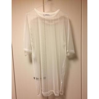 スピンズ(SPINNS)の今年の春流行る 透けTシャツ(Tシャツ(半袖/袖なし))