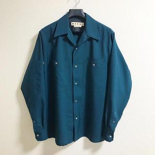 Marni - MARNI 20SS トロピカルウールシャツ