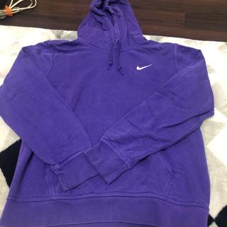 NIKE - NIKE パーカー 紫
