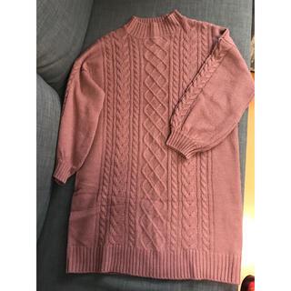 エージープラス(a.g.plus)のニットワンピース セーター(ニット/セーター)