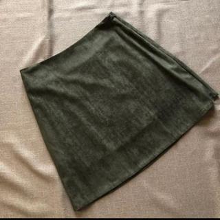 dholic - 新品タグ付 DHOLIC  ミニスカート Mサイズ カーキ