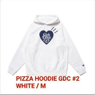 GDC - GDC PIZZA HOODIE GDC #2 WHITE / M