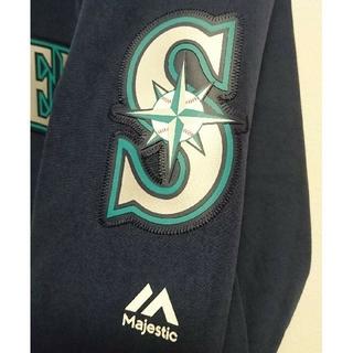 マジェスティック(Majestic)のシアトル・マリナーズ オーセンティックオンフィールドジャケット(ウェア)