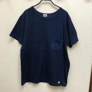 JOURNAL STANDARD - 美品 J.S.HOMESTEAD インディゴ ポケットTシャツ L