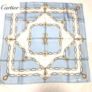 Cartier - 【正規品】美品✨カルティエ スカーフ