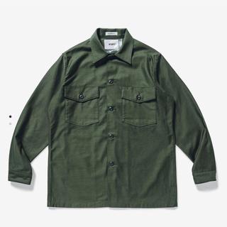 W)taps - wtaps  wmill ls 02 shirt cotton satin M
