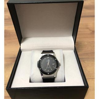 自動巻腕時計ブラック